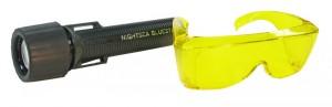 BLS1 - BlueStar Flashlight and Model VG1 barrier filter glasses - $179.50