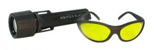 BLS3 - BlueStar Flashlight and Model VG3 Barrier Filter Glasses - $189.50